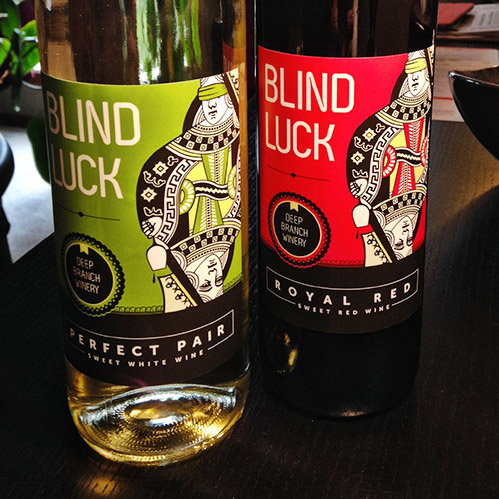 Blind Luck Label - Picture