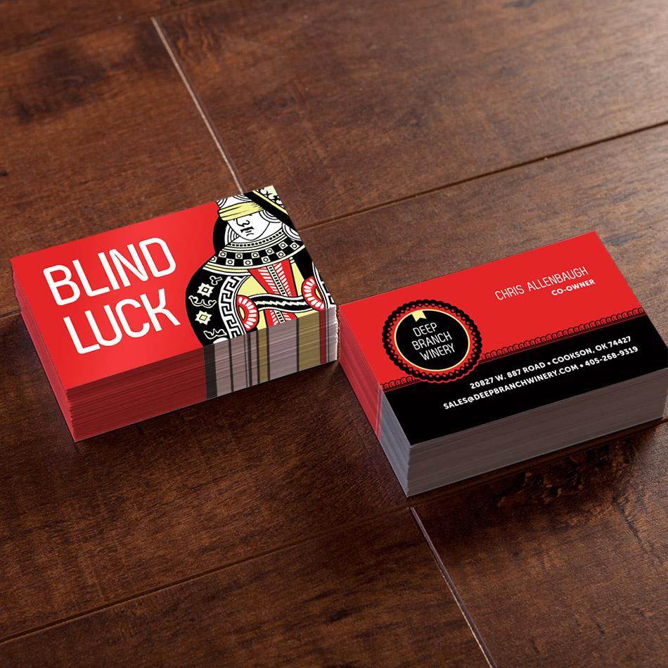 BlindLuck-Business Cards