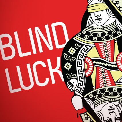 Blind Luck Label Design