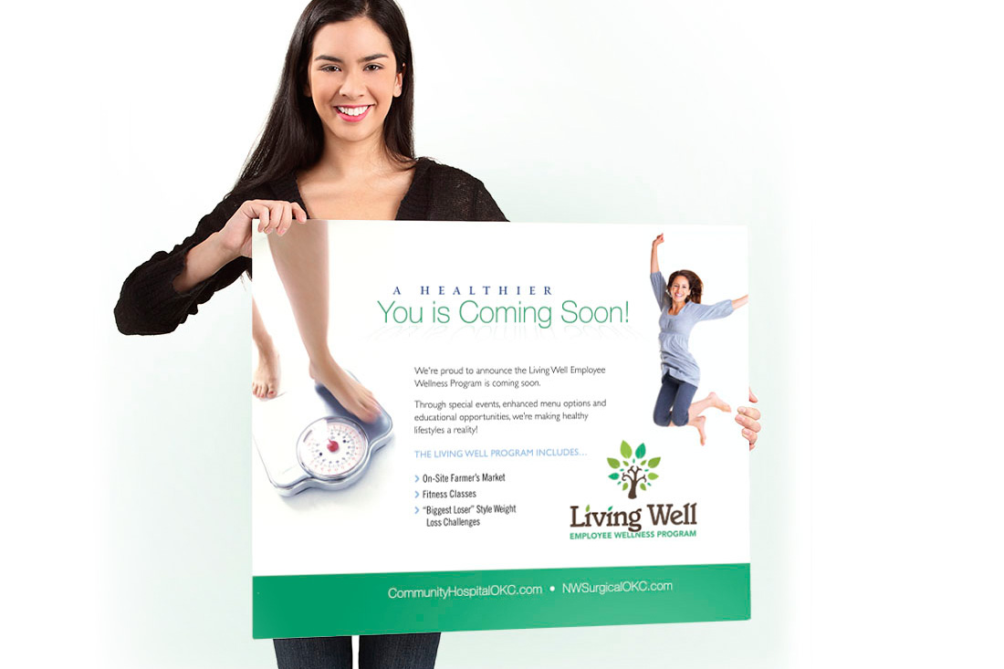 Living Well Poster