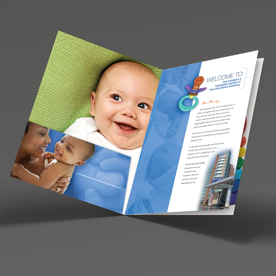 Women Brochure - Folder Design