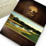 Oak Tree Invitation Design