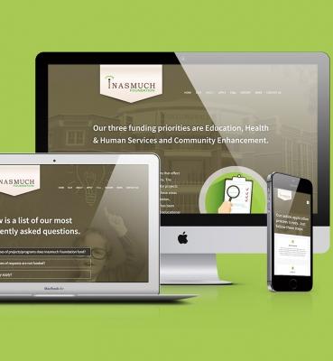 INASMUCH FOUNDATION WEBSITE DESIGN