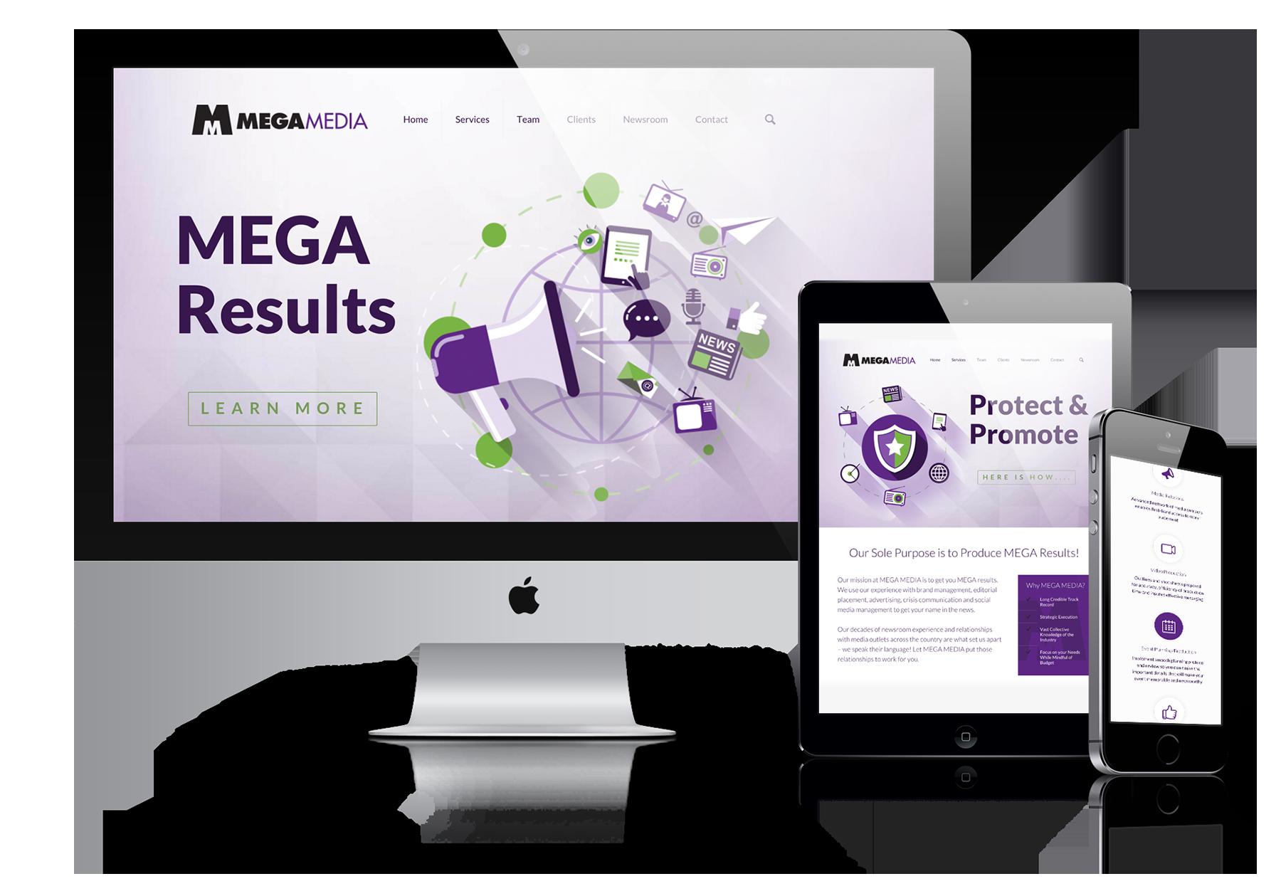 Mega Media - Website