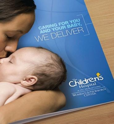 Children's Hospital Booklet Project | Chad Rogez Design